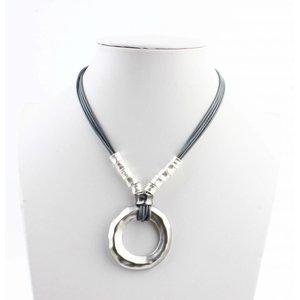 "Long necklace ""Raheem"" silver"