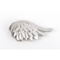 """Magneet """"Vleugel"""" zilver"""