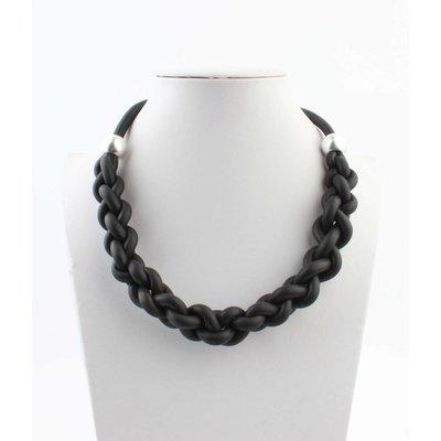 "Short necklace ""Janine"" black"