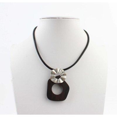 "Short necklace ""Heleen"" black"