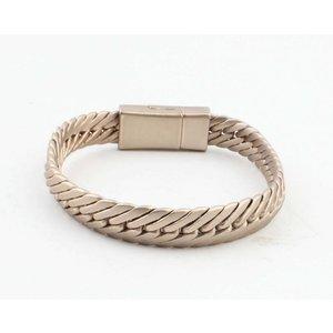 """Armband """"Busra"""" mat goud"""