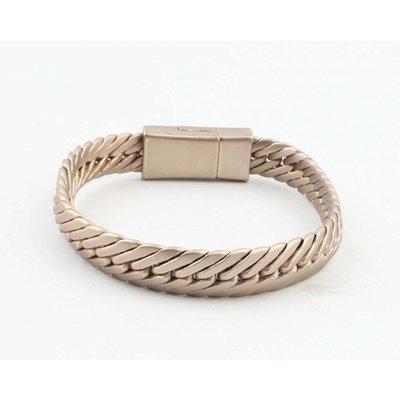"""Bracelet """"Busra"""" mat gold"""