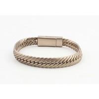 "Armband ""Gaia"" matt gold"
