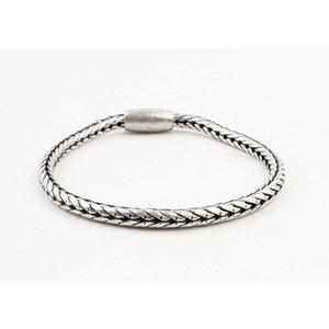 "Armband ""Uma"" oud zilver"