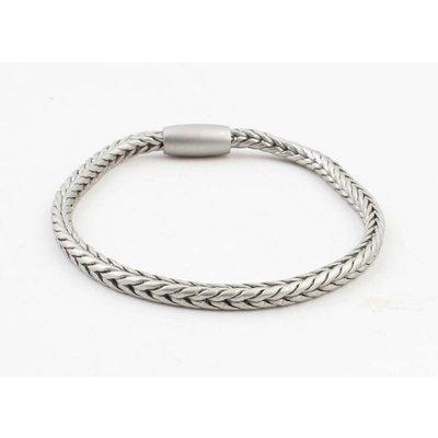 """Bracelet """"Uma"""" mat silver"""