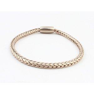 """Armband """"Uma"""" mat goud"""