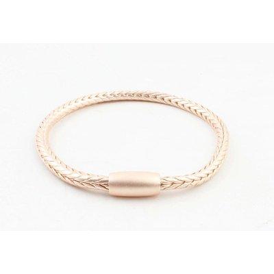 """Bracelet """"Uma"""" mat rosé"""