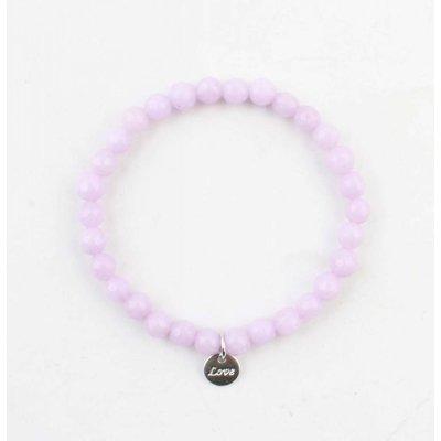 "Bracelet natural stone ""Amethyst"" purple"