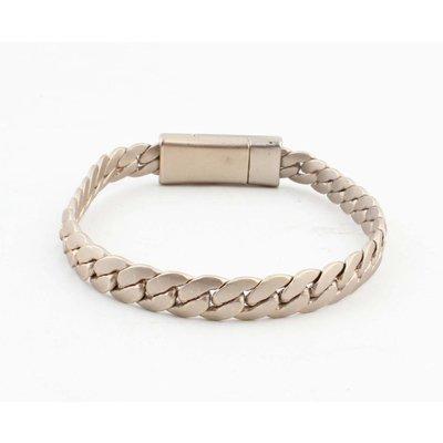 "Bracelet ""Liv"" mat gold"