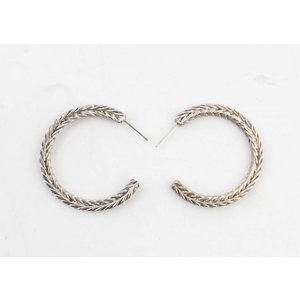 "Metal Earring ""Noé"" mat gold"
