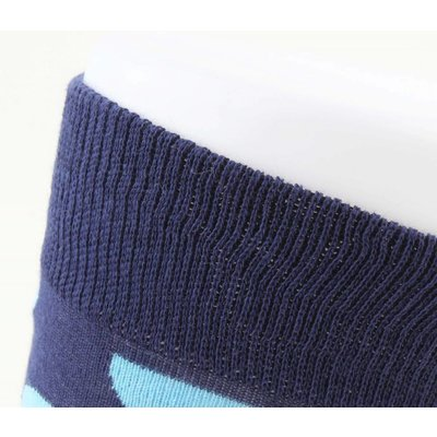"""Heren sokken """"Dots"""" blauw"""