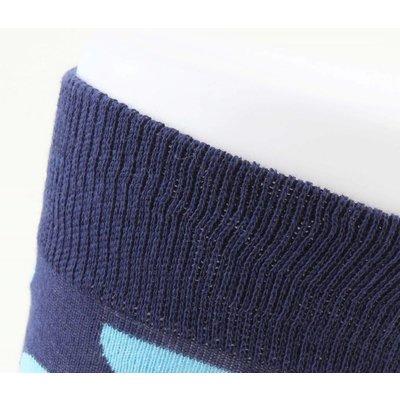 "Men's socks ""Dots"" blue"