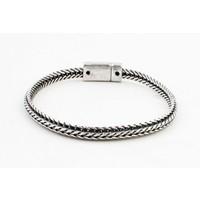 """Armband """"Faiza"""" oud zilver"""