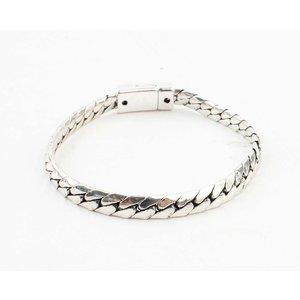 """Armband """"Alena"""" shiny zilver"""