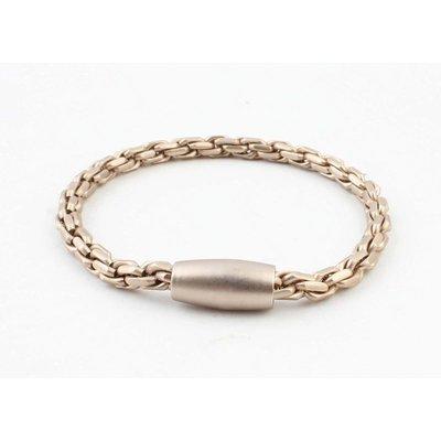 """Armband """"Elora"""" matt gold"""