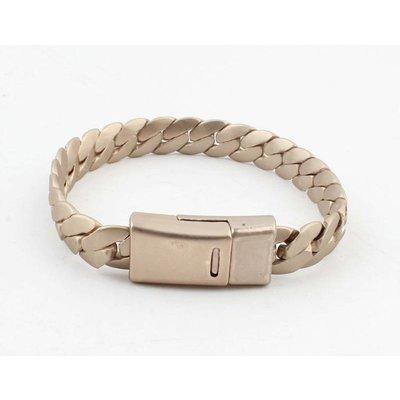"""Armband """"Liv"""" matt gold"""