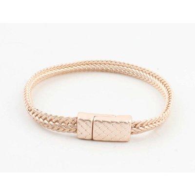 """Bracelet """"Alma"""" mat rosé"""