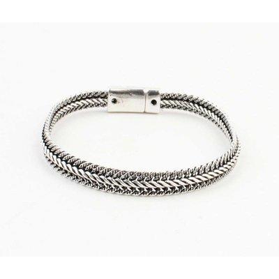 "Armband ""Alma"" glänzend silber"