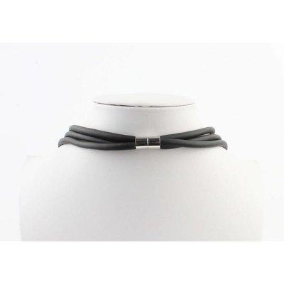 """Necklace """"José"""" black/silver"""