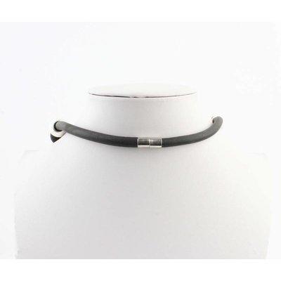 "Kürze Halskette ""Janine"" schwarz"