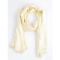 "Scarf ""Linen"" yellow"