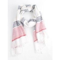 "Scarf ""Weekend"" white"