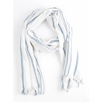 """Scarf """"Casual"""" white"""