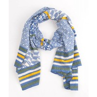 "Scarf ""Jeans"" blue"