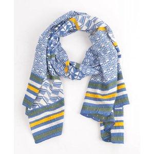 """Sjaal """"Jeans"""" blauw"""