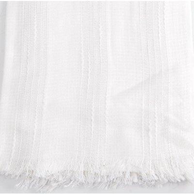 "Scarf ""Linen"" white"