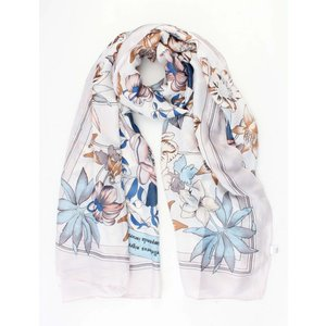 "Scarf silk look ""Rome"" white"