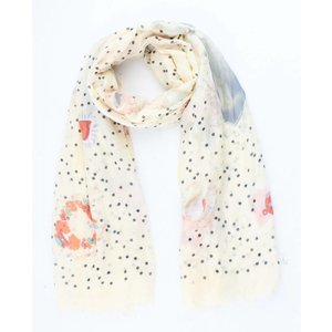 "Scarf ""Fairytale"" yellow"