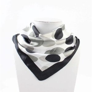 "Bandana ""Duo dots"" black"