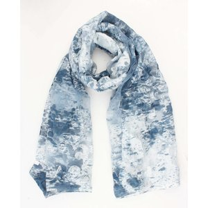 "Scarf ""Mathilde"" blue"