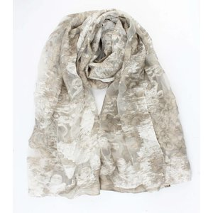 "Scarf ""Mathilde"" off white"