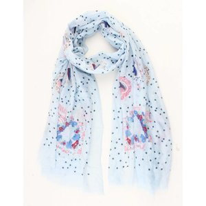 "Scarf ""Fairytale"" blue"