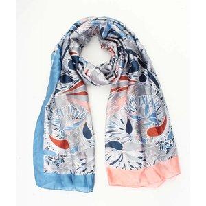 """Zijdelook sjaal """"Riga"""" roze"""