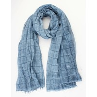 "Scarf ""Amsterdam"" denim blue"
