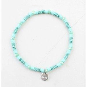 """Armband """"Zora"""" turquoise"""