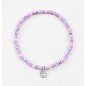 "Bracelet ""Zora"" purple"