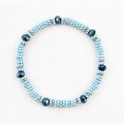 "Armband ""Anique"" blau"