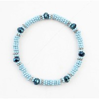 """Bracelet """"Anique"""" blue"""