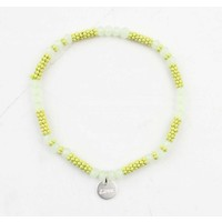 "Armband ""Kyla"" mosterd geel"
