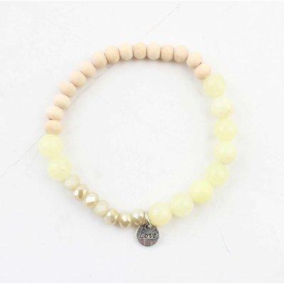 """Bracelet """"Francesca"""" yellow"""