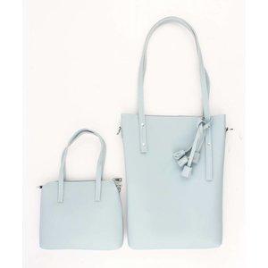 "Shopper ""Tassel"" blauw"