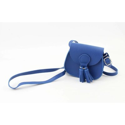 "Mini bag ""Tassel"" cobalt blue"