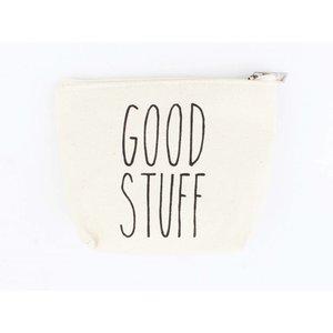 "Kosmetik Tasche ""Good Stuff"" weiß"