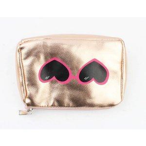 """Kosmetik Tasche """"Brille"""" rosé"""