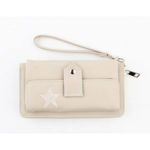 "Wallet ""Star"" taupe"