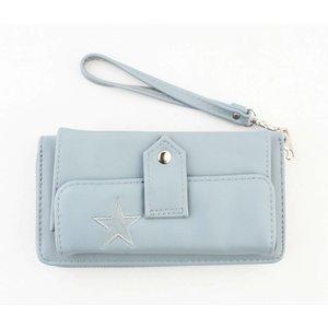 "Wallet ""Star"" blue"